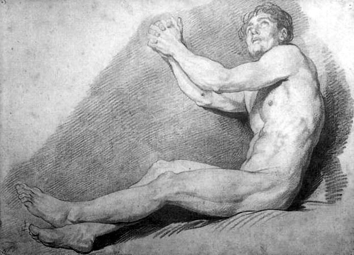 Academic Male Nude (2)