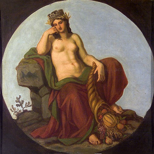 Allegory of Earth 1870s