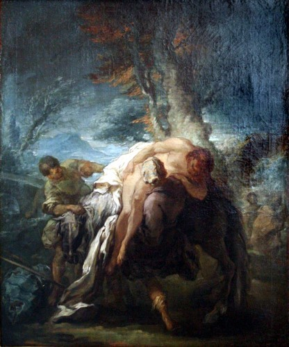 Charles-Andre van Loo - The Good Samaritain 1723