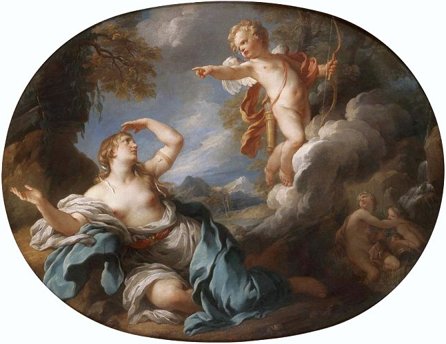 Cupid and Psyche 1730s