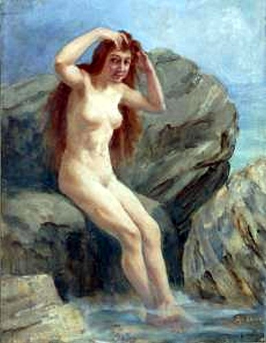 Girl at the Source 1880