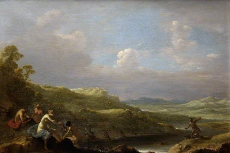 Landscape with Diana and Actaeon