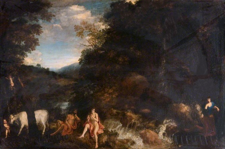 Landscape with Mercury, Argus and Io