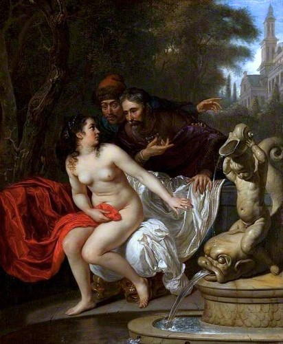 Susannah and the Elders 1658